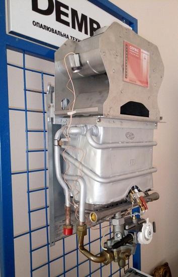 Газовая колонка Demrad SC 275 SEI LCD прежняя конструкция
