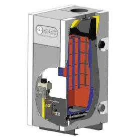 Котел газовый напольный МАЯК АОГВ-16 КС (устройство)