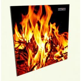 Панель нагревательная керамическая КАМ-ИН Easy Heat Original (Пламя)