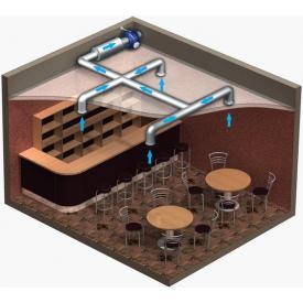 Вентилятор канальный центробежный ВЕНТС ВКМС 315 (Пример размещения)