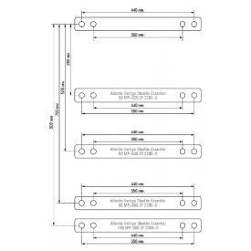 Водонагреватель электрический емкостной ATLANTIC Steatite Essential 80 MP 065 2F-220E-S (1500w) (Крепления)